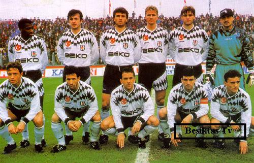 Besiktas 1995 - 1996 sezonu