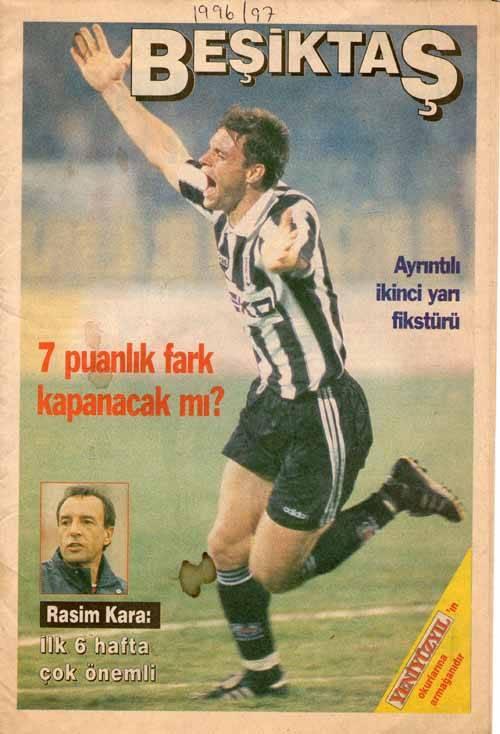 Besiktas 1996 - 1997 sezonu
