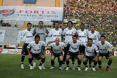 Besiktas 2007 - 2008 sezonu