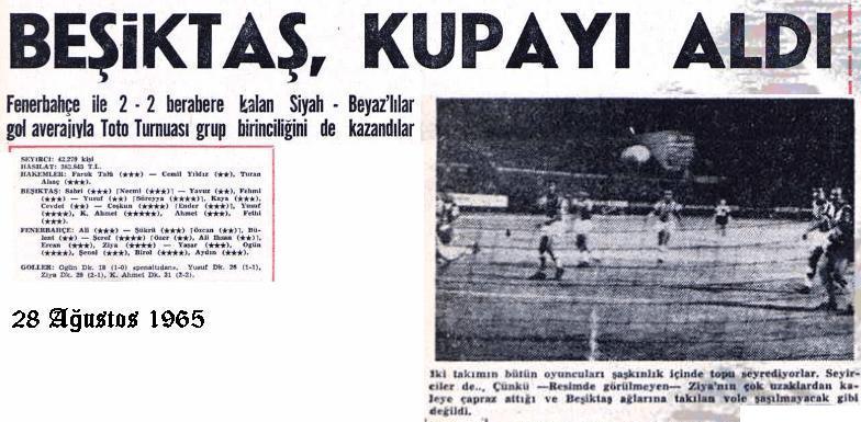 28-Agustos-1965-Fenerbah�e-Besiktas-maci