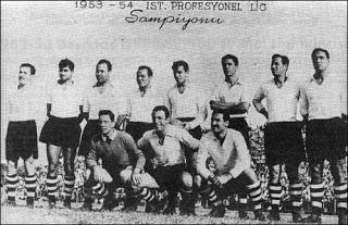 Besiktas 1953 - 1954 sezonu
