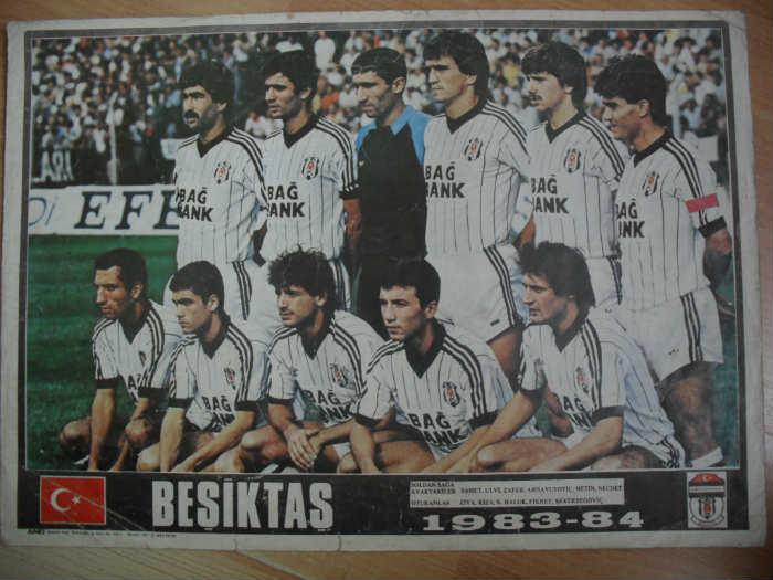 Besiktas 1983 - 1984 sezonu
