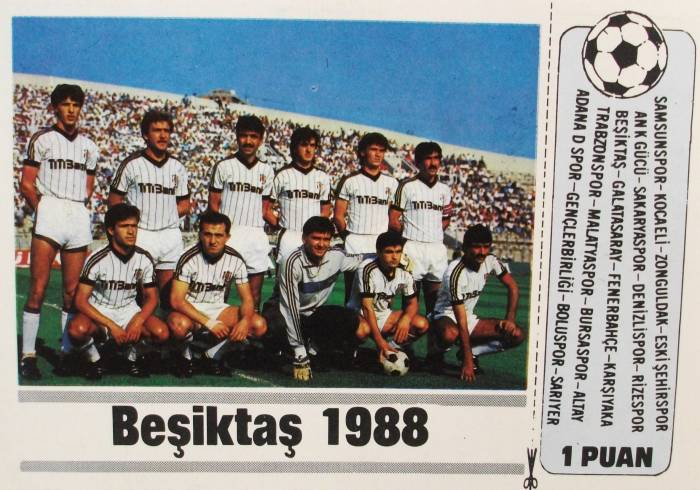 Besiktas 1988 - 1989 sezonu