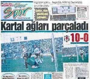 Besiktas 1989 - 1990 sezonu