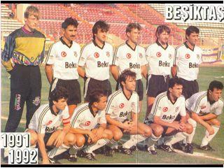 Besiktas 1991 - 1992 sezonu