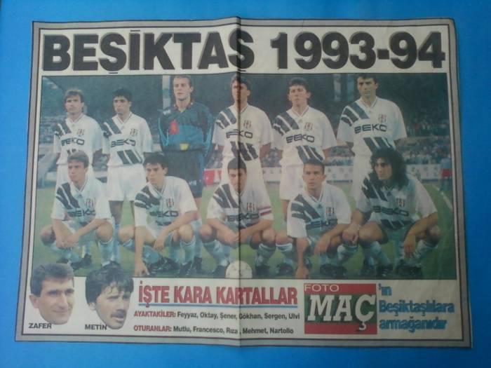 Besiktas 1993 - 1994 sezonu