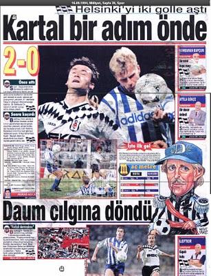 Besiktas 1994 - 1995 sezonu